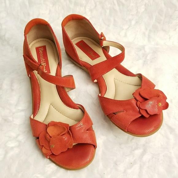 e9baf8a476 BeautiFeel Shoes - BeautiFeel Diana Red Suede Sandal